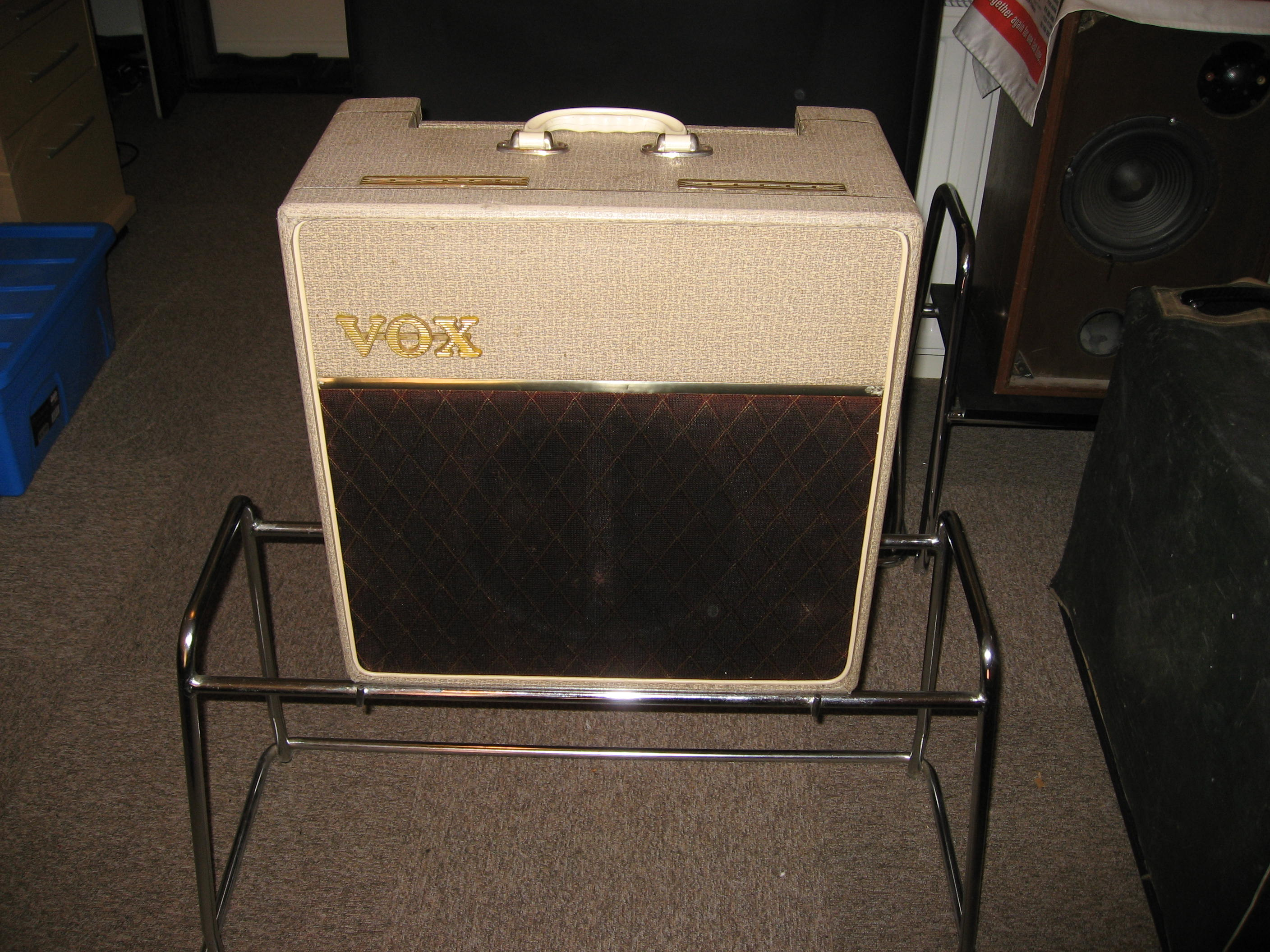 Vintage Vox amplifier collection