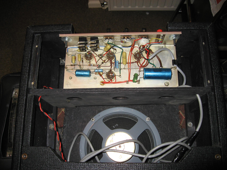 Vintage Vox amplifier collection